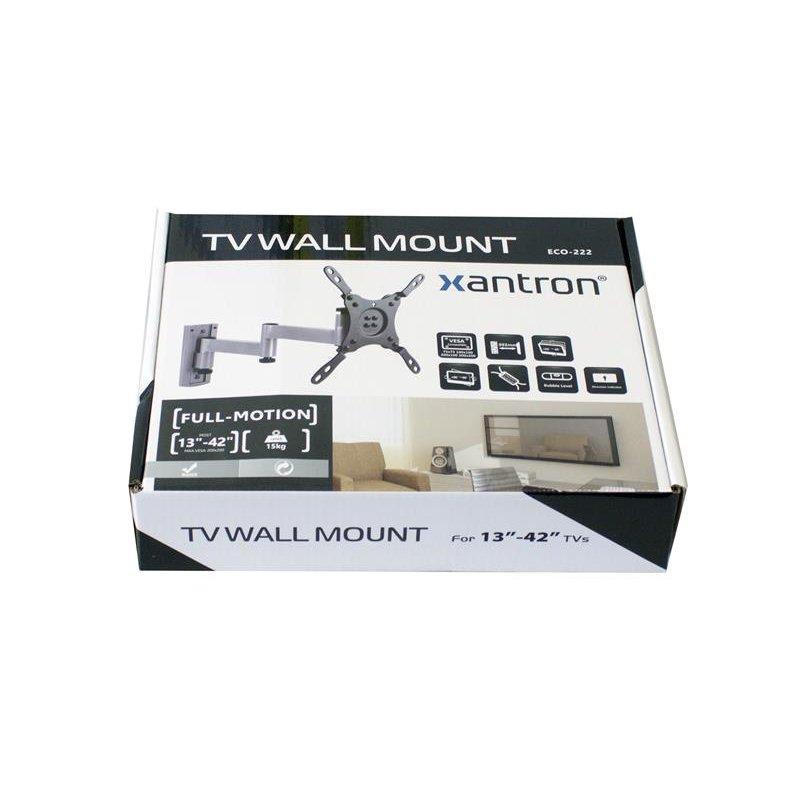 wandhalterung arretierbar f r pc und tv monitore 13 42. Black Bedroom Furniture Sets. Home Design Ideas