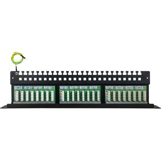 Patchpanel 24 Ports FTP Cat6